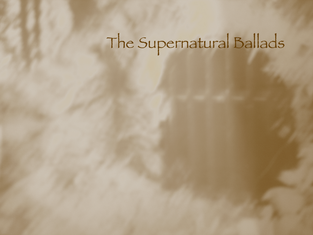 The Supernatural Ballads title image