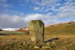 glebe stone geograph-3298486-by-Walter-Baxter
